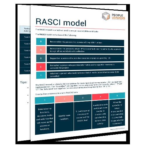 RASCI Model Cover