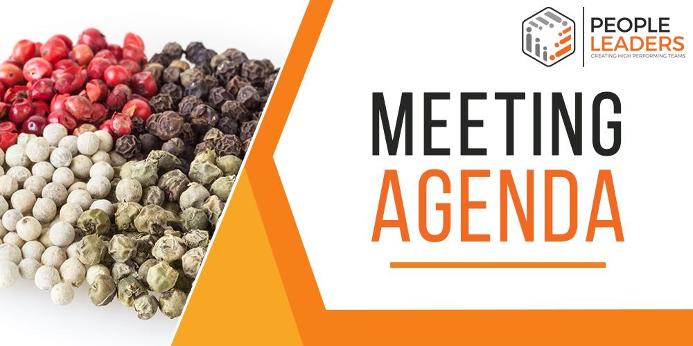 Meeting Agenda Template Banner