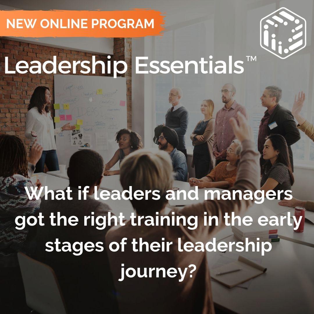 Leadership Essentials New Online Program